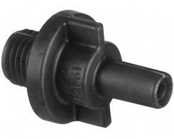 "Barb adapter 1/4"" SB x 1/4"" MPT"