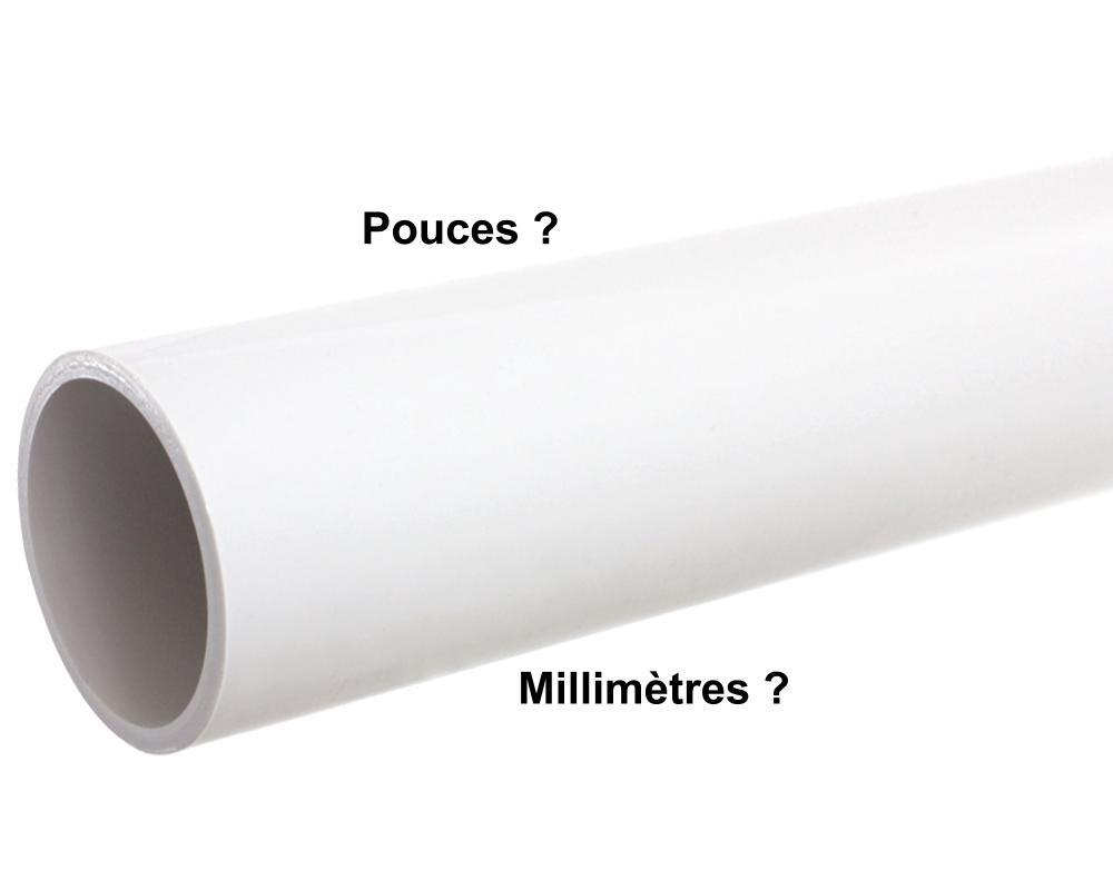 Mais Ou Sont Passé Les Tuyaux comment mesurer ou convertir la taille d'un tuyau en pouces