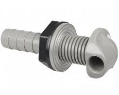 Waterway Foot nozzle, wall fitting