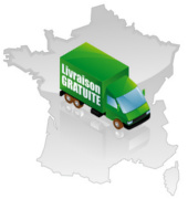 Free delivery in mainland France